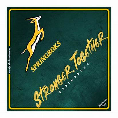 Together Stronger Board Sign Sa Springboks Rugby