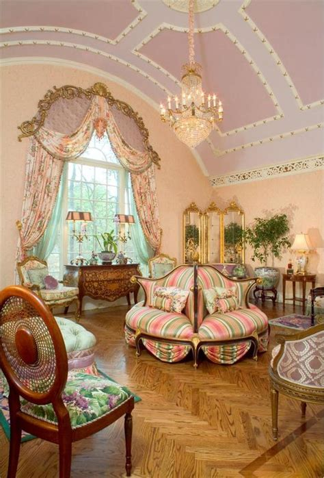 victorian decor interiors room homes shabby country living parlor furniture chic traditional english colonial rooms sofa cottage classic architecture never
