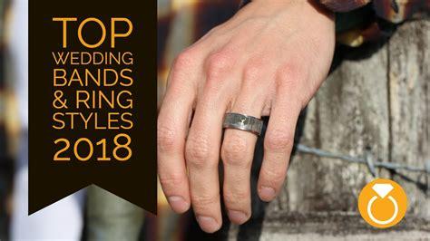top trending mens wedding bands rings of 2018 youtube