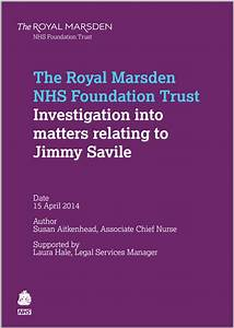Compilation Of Nhs Reports On Allegations Of Abuse By