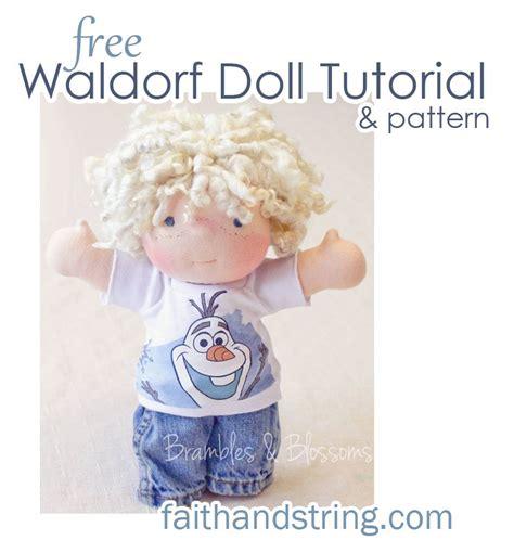 Spielzeug Nähen Anleitung by Teil 1 Kopf Herstellen Waldorf Puppe Puppen Basteln