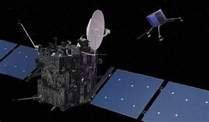 Image of the Rosetta spacecraft