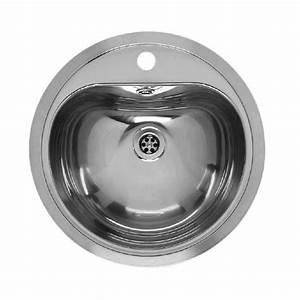 Evier Inox Rond : lavabo rond inox encastrer atlantis reginox robinet and co vasque et lavabos ~ Melissatoandfro.com Idées de Décoration