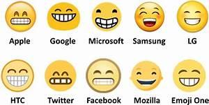 Forskellige emoji designs resulterer i fejlkommunikation Mobilsiden dk