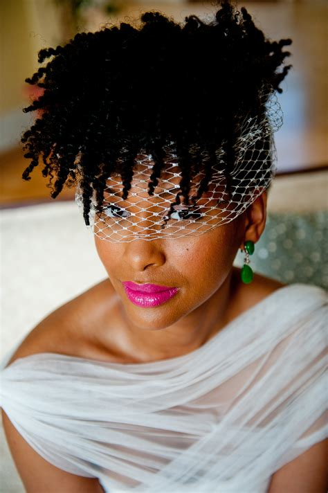 A Little Natural Hair Inspiration for Brides to Be   Afrobella
