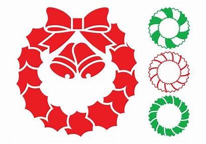 Christmas Vector Wreaths Graphics