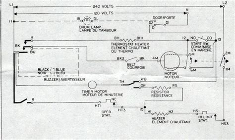 whirlpool dryer wiring diagram wiring diagram and fuse box diagram