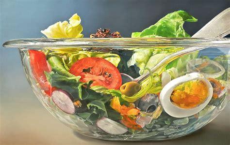 seniman bikin lukisan makanan mirip asli  menipu mata kabar berita artikel hot gossip