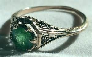 vintage emerald engagement rings engagement ring unique engagement ring - Emerald Vintage Engagement Rings