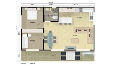 simple  bedroom guest house floor plans ideas photo house plans