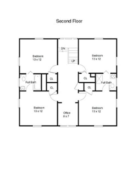 american foursquare floor plans 1900 1915 architectural design for the american foursquare