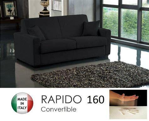 canape convertible usage quotidien canape convertible rapido 160cm dreamer tissu microfibre