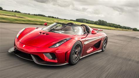 red koenigsegg regera krachtigste productieauto dit zijn de 8 krachtigste