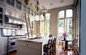 Architect Kitchen Breakfast Area Ladder Floor To Ceiling Cabinets Coffee Station Next To A Floor To Ceiling Pull Out Pantry Cabinet Glen Ellyn Gray Kitchen With Floor To Ceiling Gray Kitchen Cabinets Floor Kitchen Terracotta Floors Kitchen Floor Tiles Cabinets