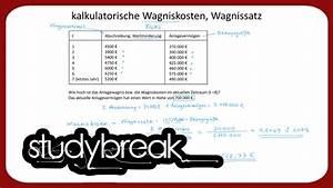 Kalkulatorische Miete Berechnen : kalkulatorische wagnisse wagniskosten wagnissatz kosten und leistungsrechnung youtube ~ Themetempest.com Abrechnung