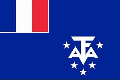 French Southern Flag Lands Antarctic Svg Pixels