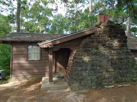 bastrop state park cabin  texas parks wildlife