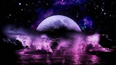 Lightning Storm Wallpapers Purple Amazing Lockscreen