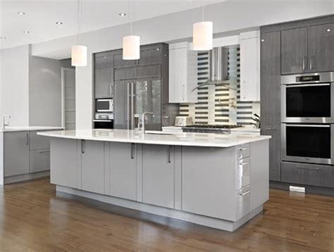 Minimalist Tan Grey Kitchen Cabinet Paint Color Silver
