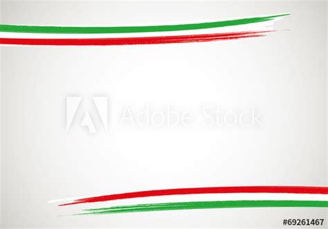 cornice tricolore base cornice italia orizzontale kaufen sie diese