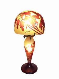 Lampe à Pétrole Ancienne Le Bon Coin : emile gall lampe champignon coeur de marie xxe si cle ~ Melissatoandfro.com Idées de Décoration