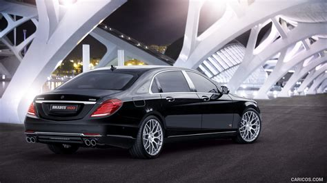 2016 mercedes maybach s600 brabus 900hp! 2016 BRABUS 900 Mercedes-Maybach S600 - Rear | HD Wallpaper #2