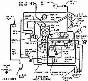 Chevy S10 Vacuum Line Diagram