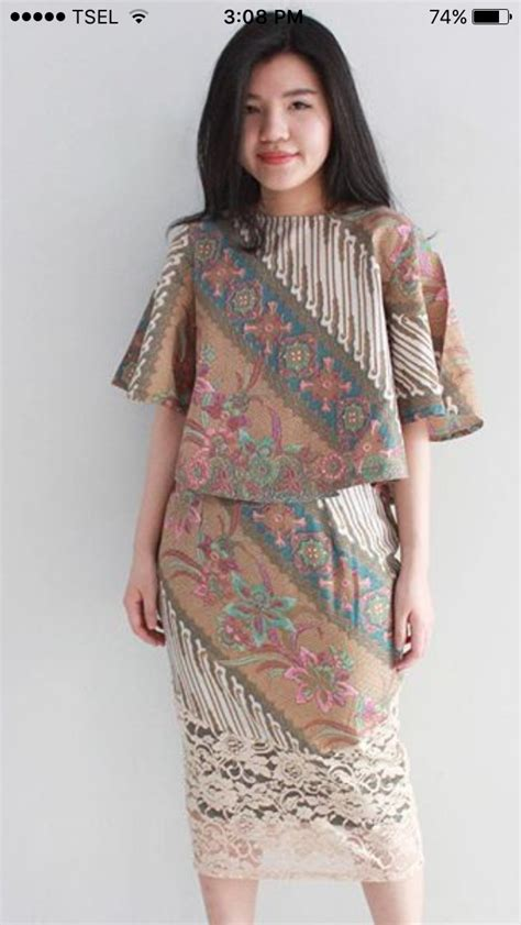 pin  de wulan  klambi batik batik dress dress batik