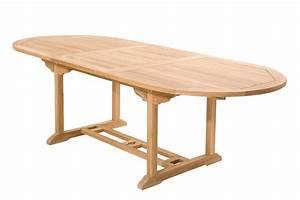 Table De Jardin 2 Personnes : salon de jardin teck brut kajang ovale 8 personnes ~ Dailycaller-alerts.com Idées de Décoration