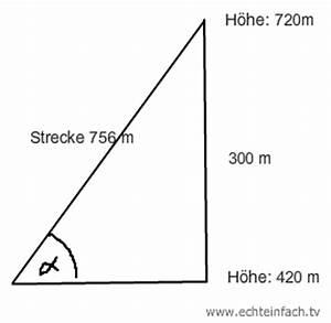Trigonometrie Höhe Berechnen : trigonometrie trigonometrie aufgabe mittleren steigungswinkel einer seilbahn berechnen ~ Themetempest.com Abrechnung