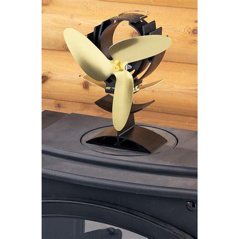heat powered wood stove fan ecofan heat powered wood stove fan 109601 fireplaces