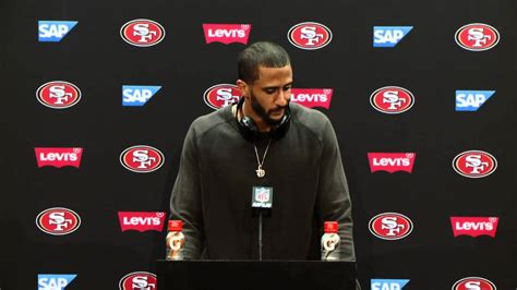 ers  rams postgame press conference colin kaepernick