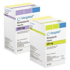 vargatef nintedanib cancer pulmonar capsulas