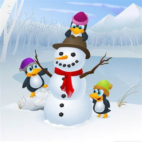Penguin cool pictures, hd backgrounds and wallpapers for all kinds of computers and mobile devices: Cute Christmas Penguin Wallpapers on WallpaperDog