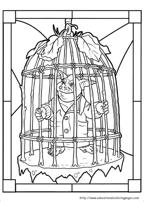 spiderwick coloring pages educational coloring 769 | spiderwick 04