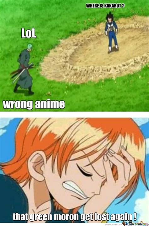 lost zoro piece memes funny anime meme roronoa navigation got sense direction guy lol could epic oh nami again crossover