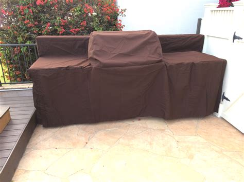 custom outdoor island covers for barbeques kitchen