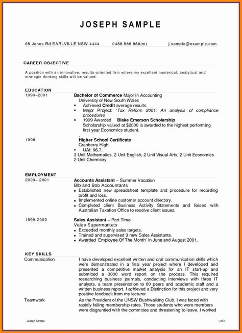 Cv For by 7 Cv Sle For Accounting Bdf Theorynpractice