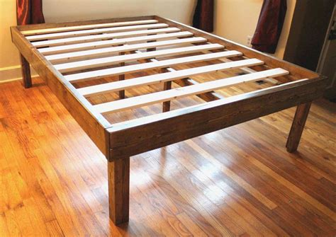 Diy Tall Platform Bed Frame  Diy (do It Your Self