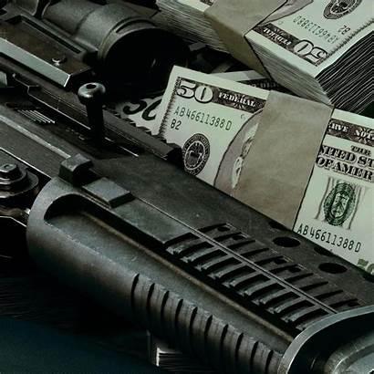 Money Iphone Ipad Gun Screensavers Stacks Smscs