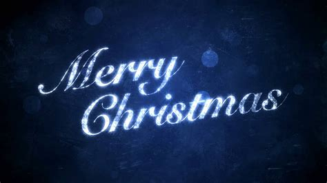 merry christmas blue hd background loop youtube