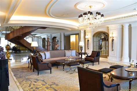 St. Regis Dubai Unveils New Imperial Suite Living Room Sets Nj Wallpaper Ideas Red White Black Trays Paint Colors 2012 Newest For Rooms L Shaped Couch Christmas Lights Color Paints Wall