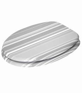 Wc Sitz Grau Mit Absenkautomatik : wc sitz mit absenkautomatik grey stripes ~ Bigdaddyawards.com Haus und Dekorationen