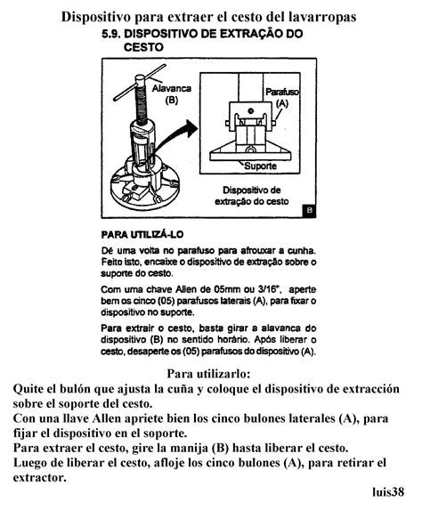 solucionado lavadora eslabon de lujo awr 680 problemas