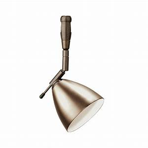Lbl lighting orbit swivel i light bronze track