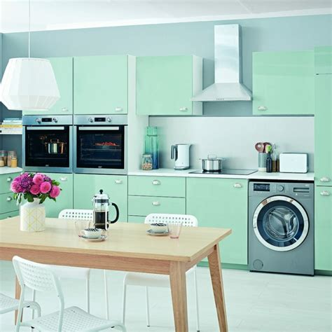 cuisine mur vert 1001 conseils et idées pour une déco couleur vert d 39 eau