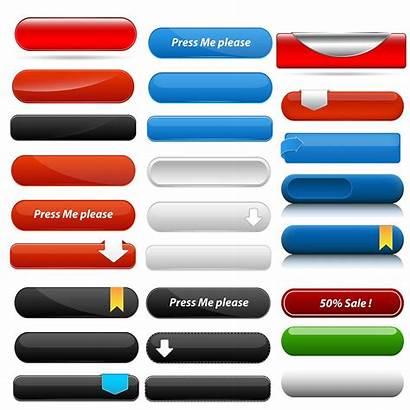 Buttons Web Menu Vectors Vector Sets Button