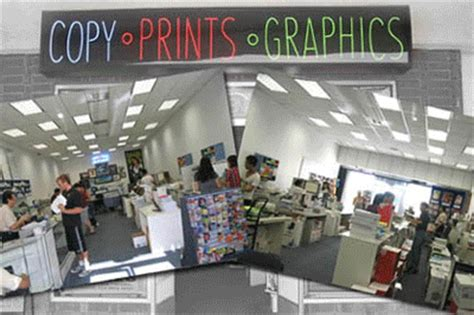 la copy  print center   offering  day business