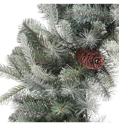 feel real alaskan spruce tree martha stewart living 30 in feel real alaskan spruce artificial wreath with pinecones pefa1 311
