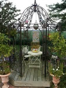 iron pergola kits metal gazebo charlies garden pinterest amazons gazebo and metals